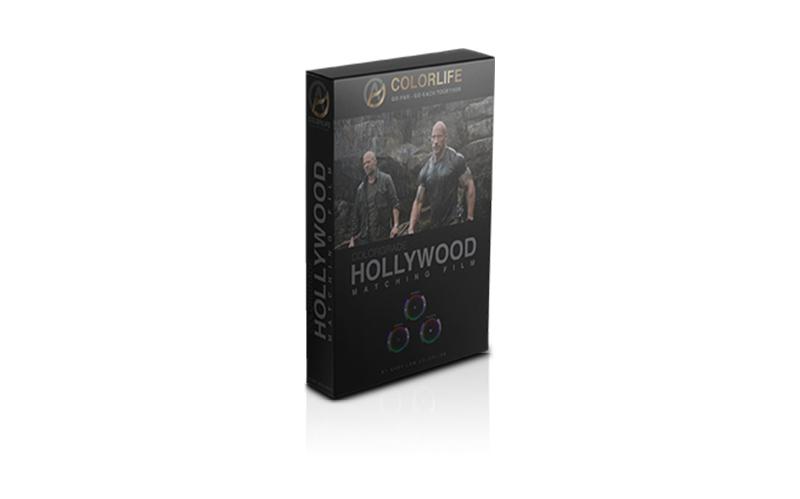 Matching Film Tone Hollywood
